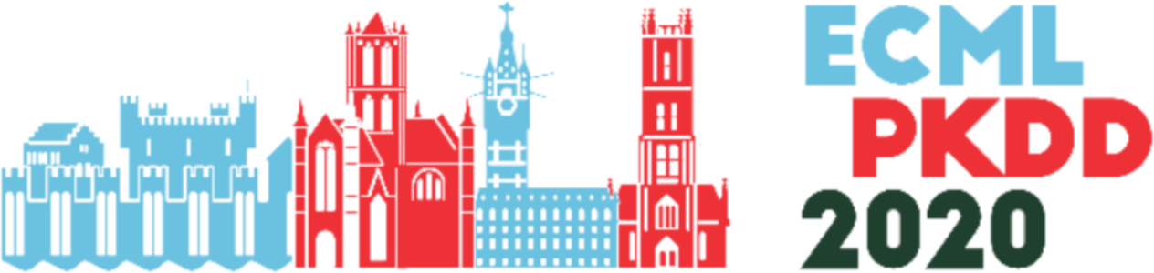 ECML-PKDD 2020 (31st ECML and 24th PKDD = European Conference on Machine Learning and Principles and Practice of Knowledge Discovery in Databases)